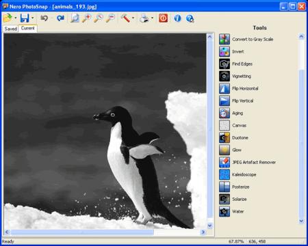 Редактируем файлы с помощью Nero PhotoSnap