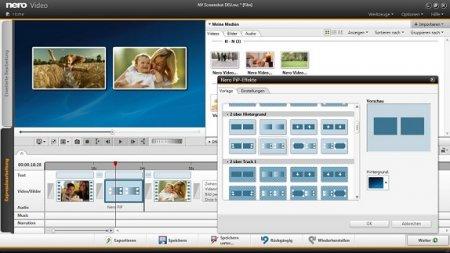 Обработка видеозаписей с помощью Nero