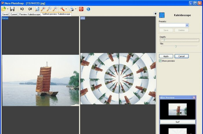 Nero PhotoSnap Viewer 7 — рис. 2